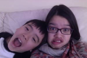 I'm just going to litter this post with pictures of my brother and me.