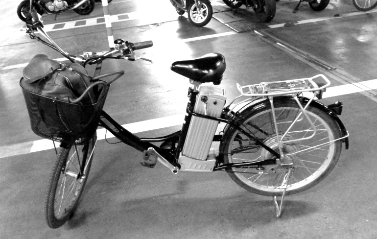 My steed for this particular adventure was motorized! Does this count as a motorbike?
