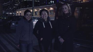 Me, Rozzie, and Sam who plays Nixie